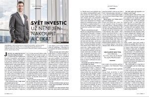 Rozhovor pro Forbes: Svět investic už není jen nakoupit a čekat.