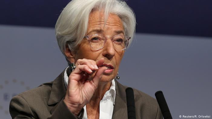 Christine Lagarde a její první projev z pozice šéfky ECB