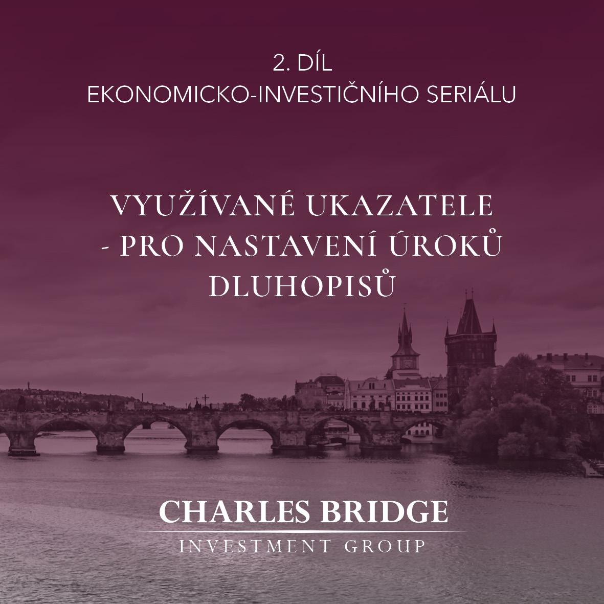 Využívané ukazatele pro nastavení úroků dluhopisů