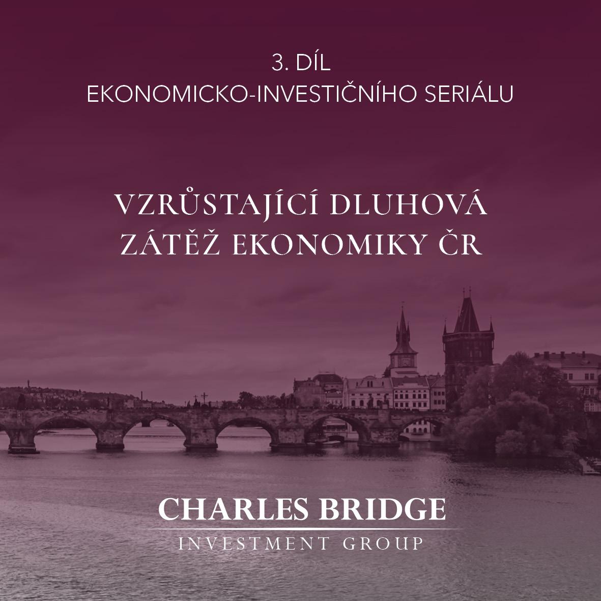 Vzrůstající dluhová zátěž ekonomiky ČR