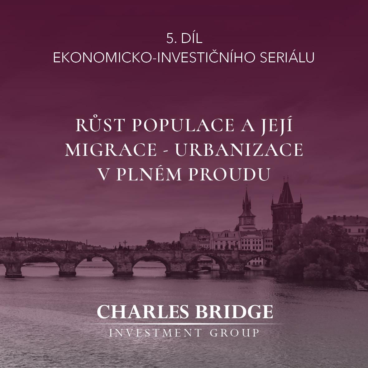 Růst populace a její migrace v ČR – urbanizace v plném proudu