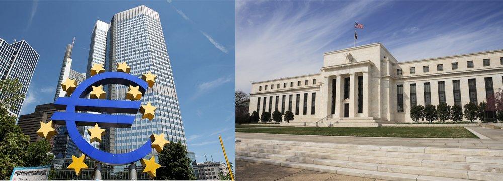 Zápisy z jednání ECB a Fedu