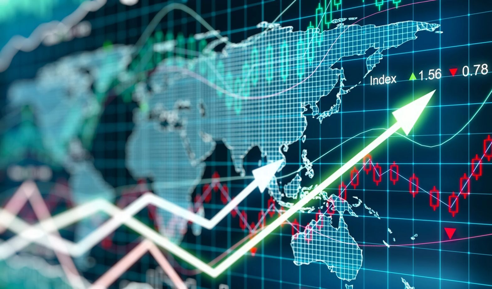 Nevídaný YoY vývoj indexu S&P 500